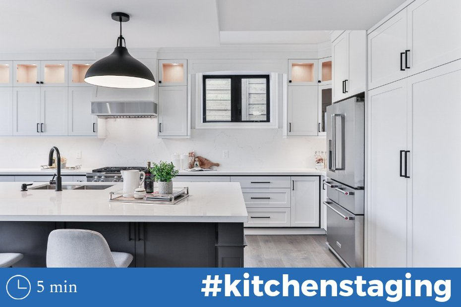 Kitchen Staging Tips to Wow Buyers